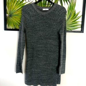 MNG soft gray long sleeve sweater